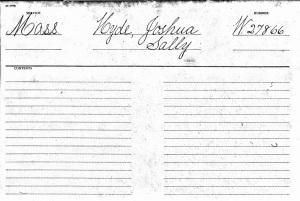 Joshua Hyde Revolutionary War Pension Record, ancestry.com.
